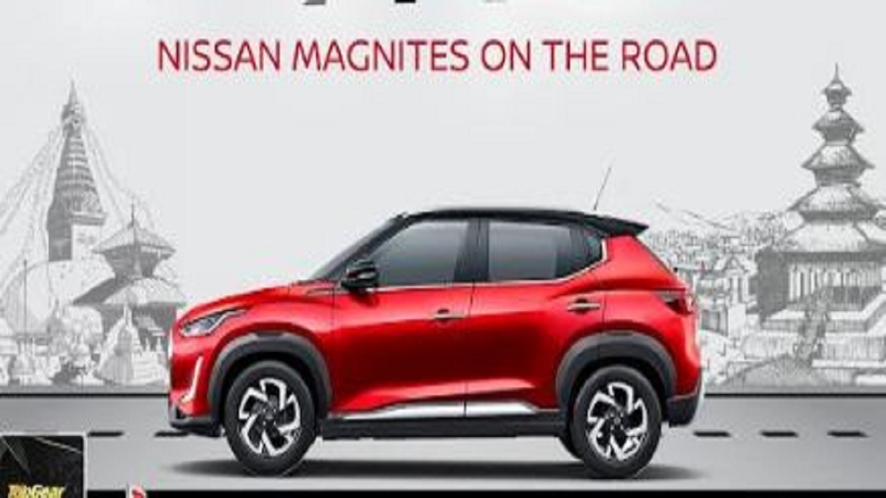 1,111 units of Nissan Magnite vehicle in Nepal