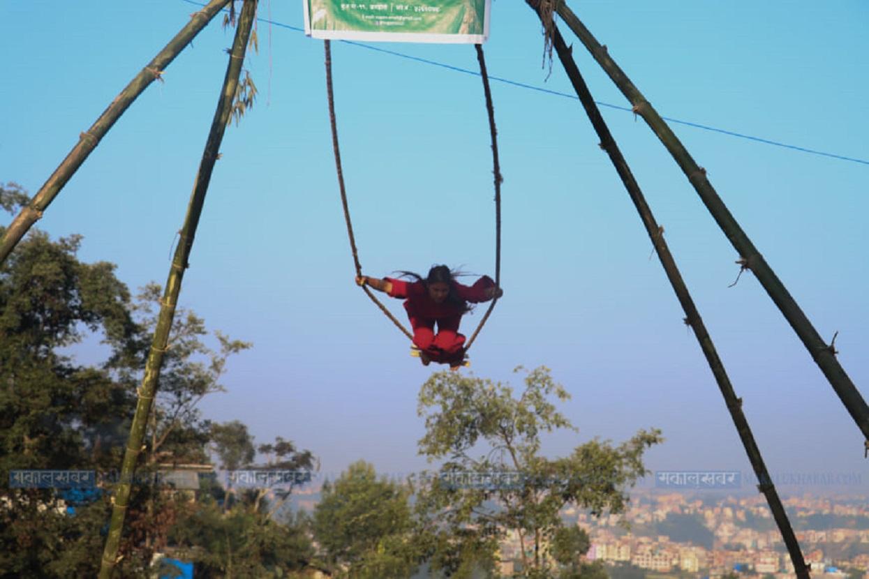 Dashain, swing and religious beliefs [Photos]