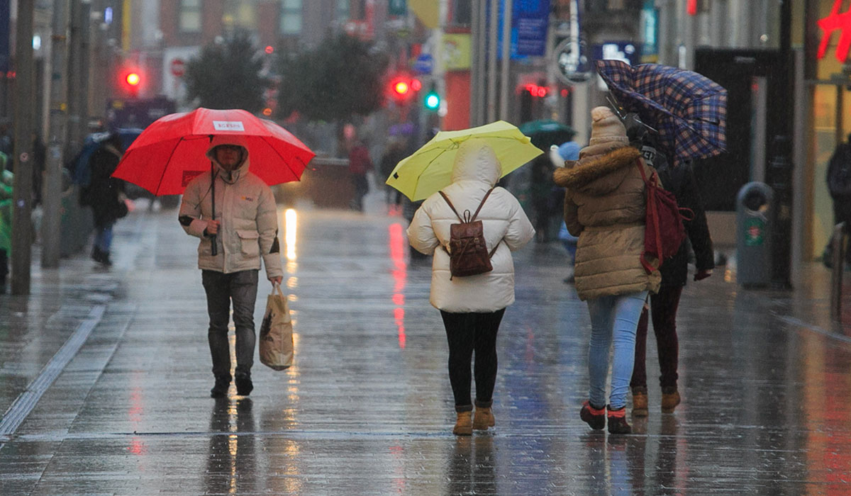 Where is the change? See three-day weather forecast
